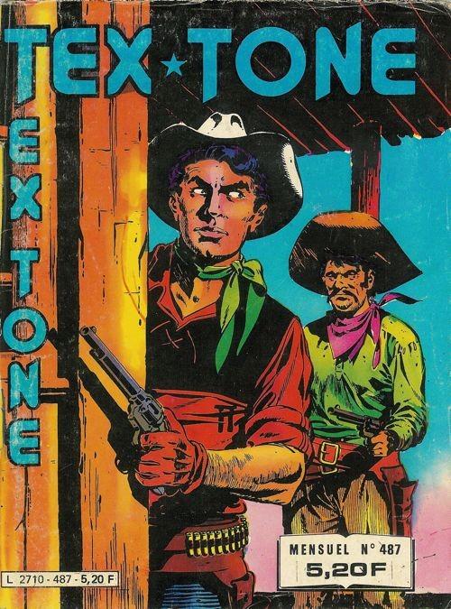 Couverture de Tex-Tone -487- La moissonneuse