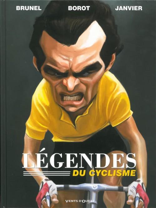Couverture de L'Équipe de rêve / Légendes -3- Légendes du cyclisme