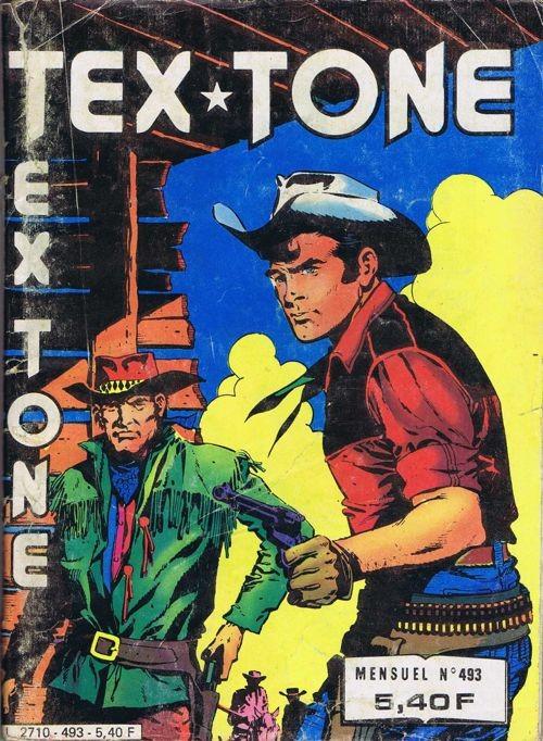 Couverture de Tex-Tone -493- La nuit de la peur