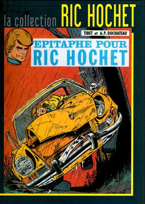 Couverture de Ric Hochet - La collection (Hachette) -17- Epitaphe pour Ric Hochet