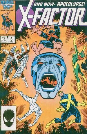 Couverture de X-Factor (Marvel comics - 1986) -6- Apocalypse now !