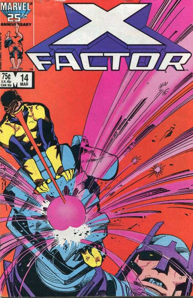 Couverture de X-Factor (Marvel comics - 1986) -14- The Mutant Program !