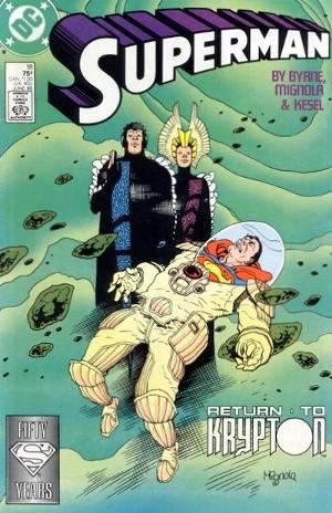Couverture de Superman (1987) -18- Return to Krypton