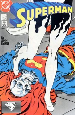 Couverture de Superman Vol.2 (DC comics - 1987) -17- Cries in the Night