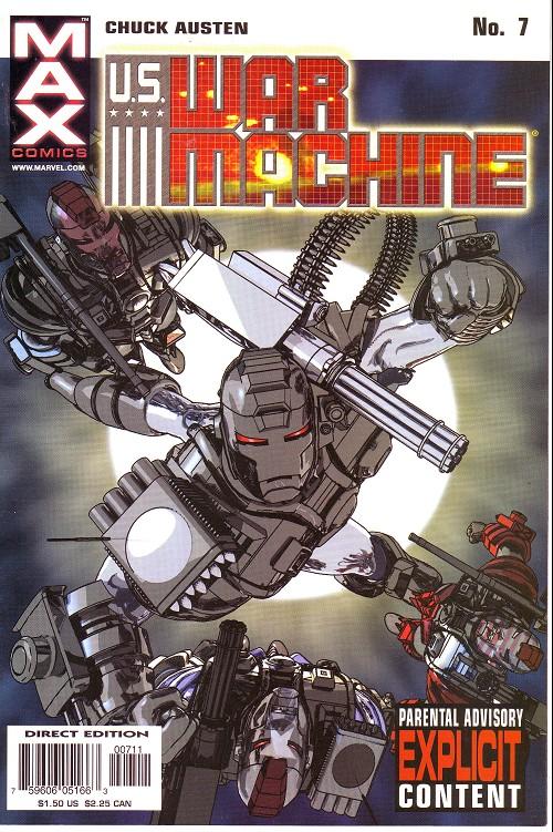 Couverture de U.S. War Machine (2001) -7- N°7