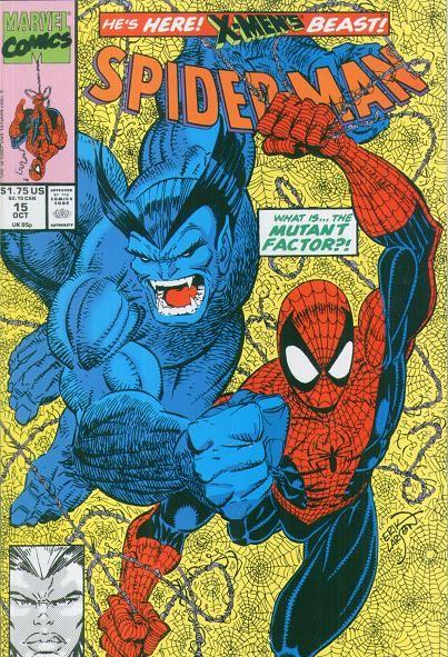 Couverture de Spider-Man (1990) -15- The Mutant Factor