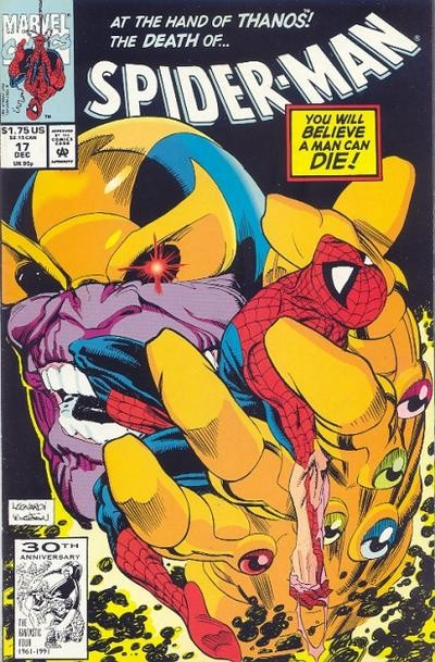 Couverture de Spider-Man (1990) -17- No one gets out of here alive !