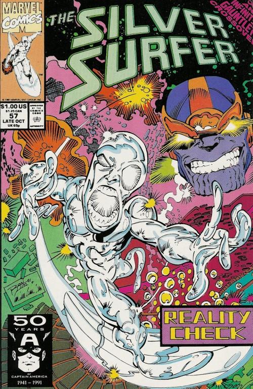 Couverture de Silver Surfer Vol.3 (Marvel comics - 1987) -57- Inquisition
