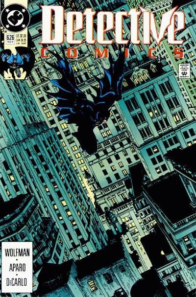 Couverture de Detective Comics (1937) -626- Return to the Electrocutioner