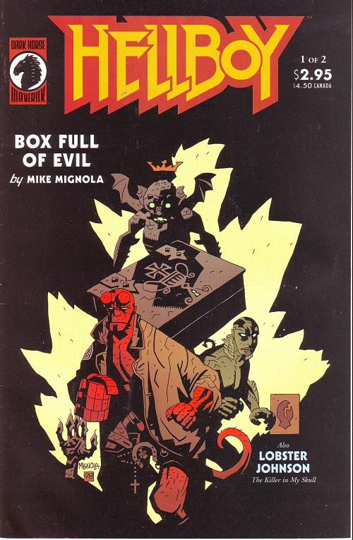 Couverture de Hellboy (1994) -15- Box full of evil (1)