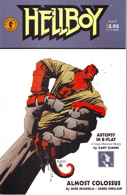 Couverture de Hellboy (1994) -13- Almost Colossus (2)