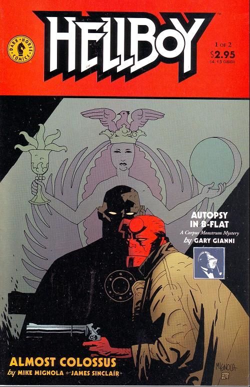 Couverture de Hellboy (1994) -12- Almost Colossus (1)