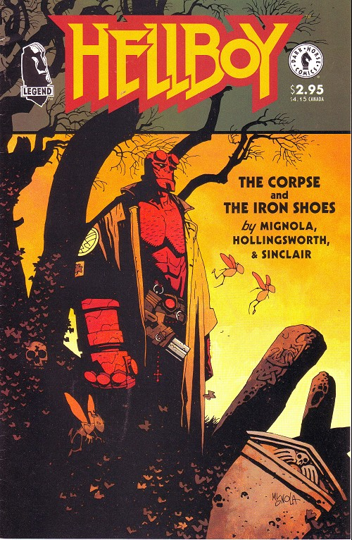 Couverture de Hellboy (1994) -6- The corpse and the iron shoes
