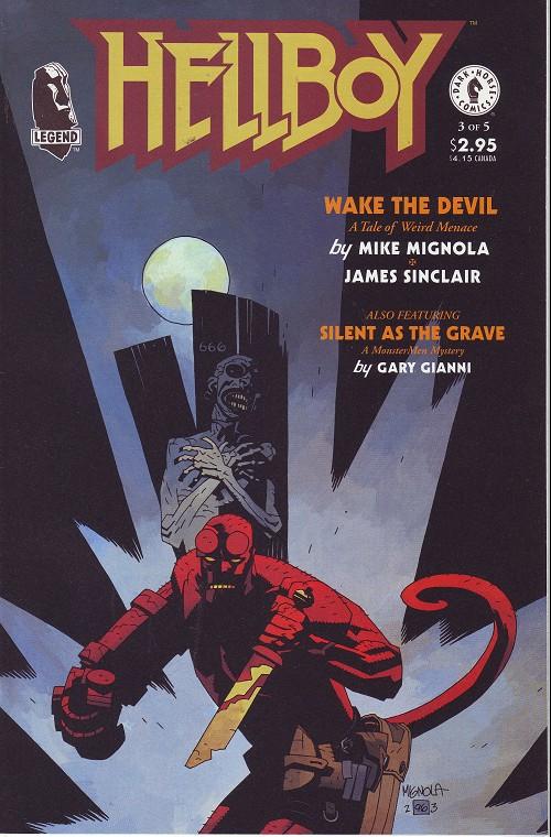 Couverture de Hellboy (1994) -9- Wake the devil (3)