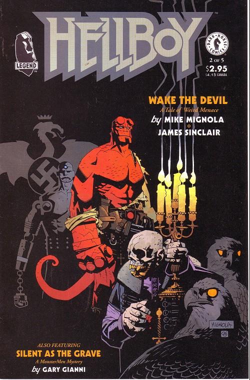 Couverture de Hellboy (1994) -8- Wake the devil (2)