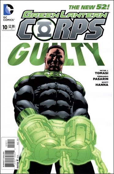 Couverture de Green Lantern Corps (2011) -10- Alpha-war : executioner's song