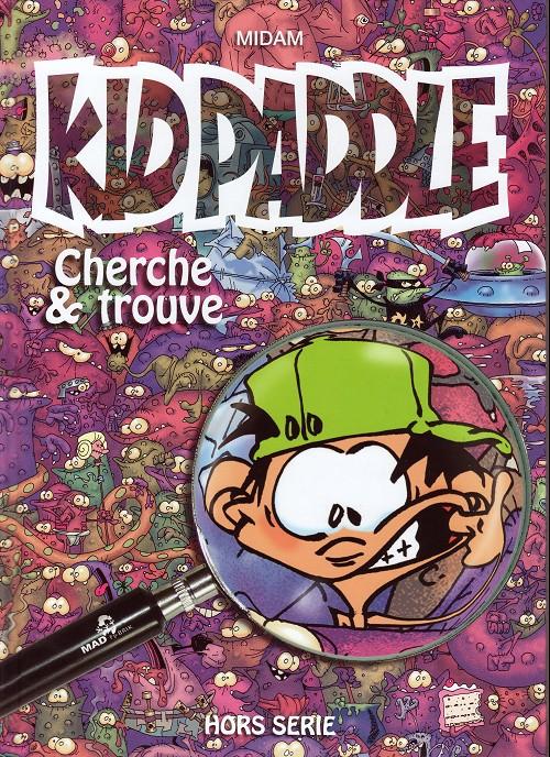 Couverture de Kid Paddle -HS- Cherche et trouve