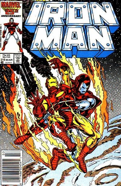 Couverture de Iron Man Vol.1 (Marvel comics - 1968) -216- Requiescat... and revenge !