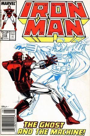 Couverture de Iron Man Vol.1 (Marvel comics - 1968) -219- Ghost story