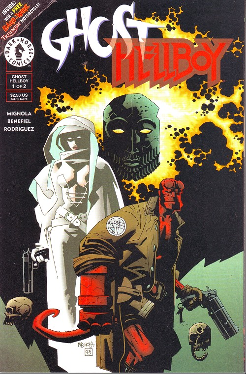 Couverture de Ghost/Hellboy (1996) -1- Issue 1 of 2