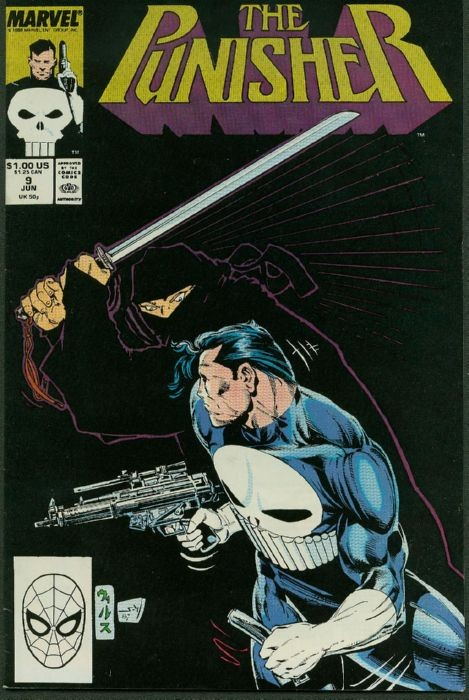 Couverture de Punisher (1987) (The) -9- Insider trading