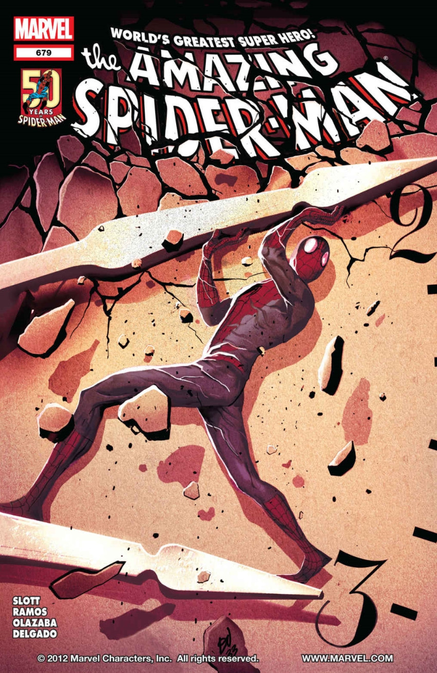 Couverture de Amazing Spider-Man (The) Vol.2 (Marvel comics - 1999) -679- I Killed Tomorrow, Part 2 of 2: A Date with Predestiny