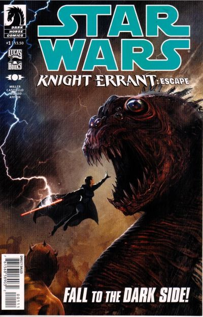 Couverture de Star Wars: Knight Errant (2010) -1- Escape 1