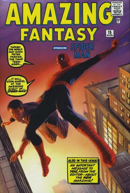 Couverture de Amazing Spider-Man (The) (TPB) -INTHC- Omnibus Volume 1 - Alex Ross Direct Market Edition