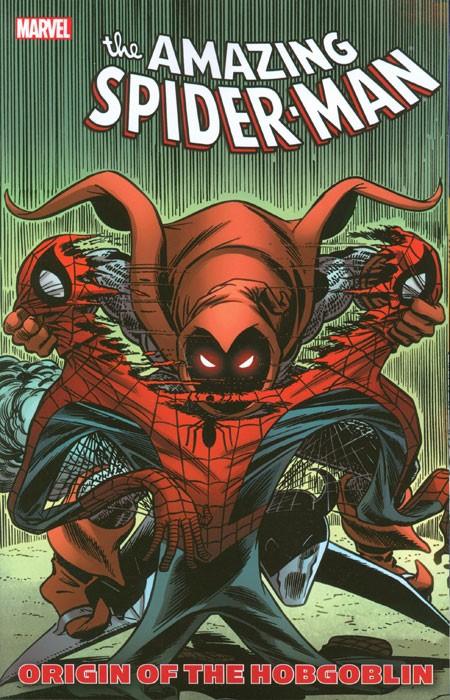 Couverture de Amazing Spider-Man (The) (TPB) -INT- Origin of the Hobgoblin
