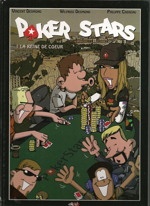 Poker Stars (Tome 1) sur Bookys
