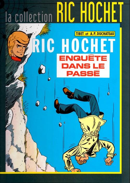 Couverture de Ric Hochet - La collection (Hachette) -18- Enquête dans le passé