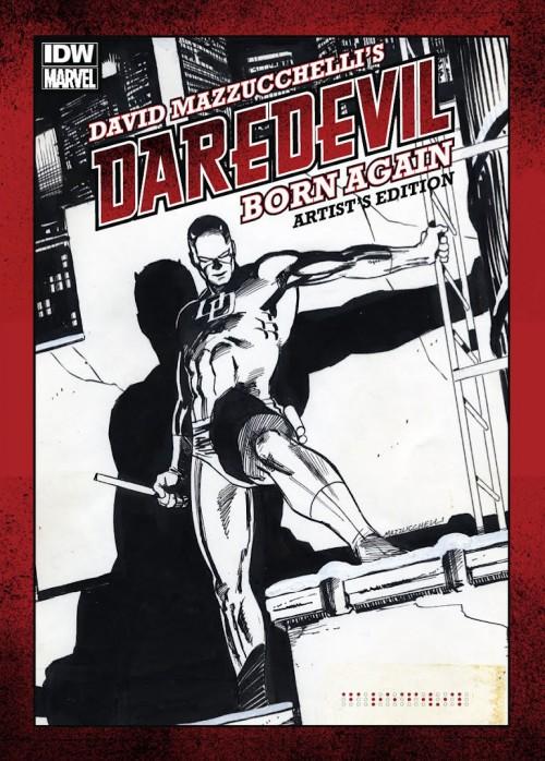 Couverture de Daredevil (1964) -INT- David Mazzucchelli's Daredevil Born Again: Artist's Edition