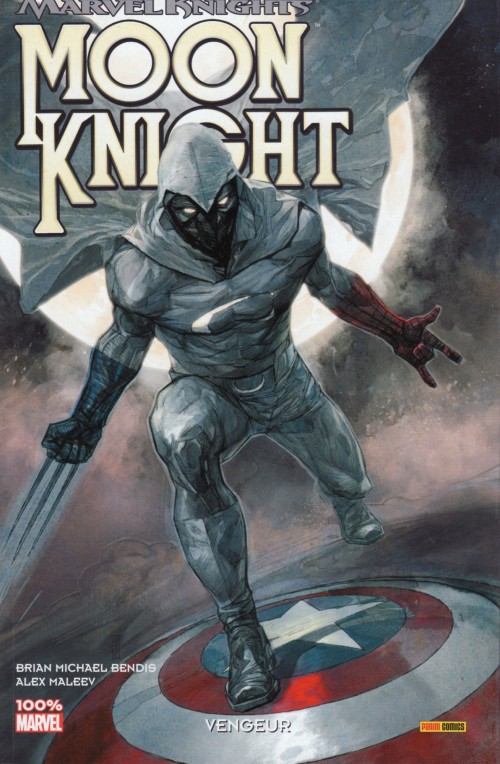 Couverture de Moon Knight (Marvel Knights) -1- Vengeur