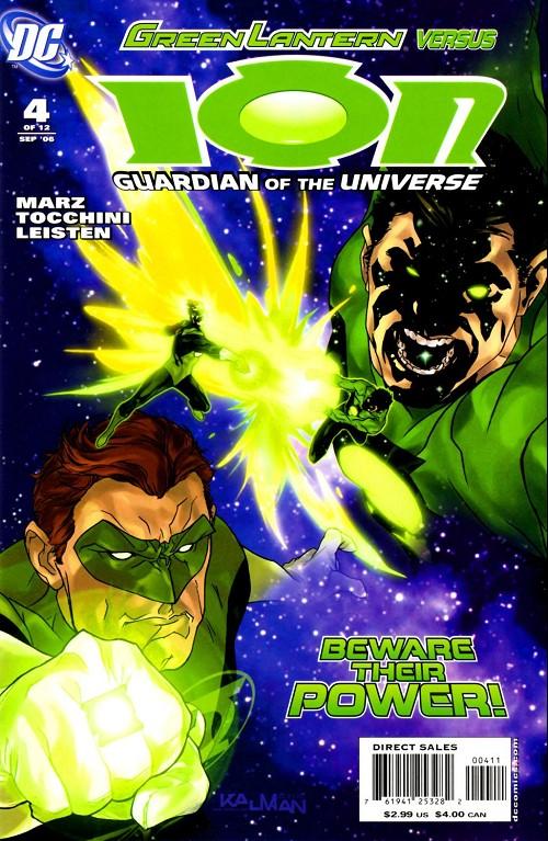 Couverture de Ion: Guardian of the Universe (2006) -4- Torch bearer 4