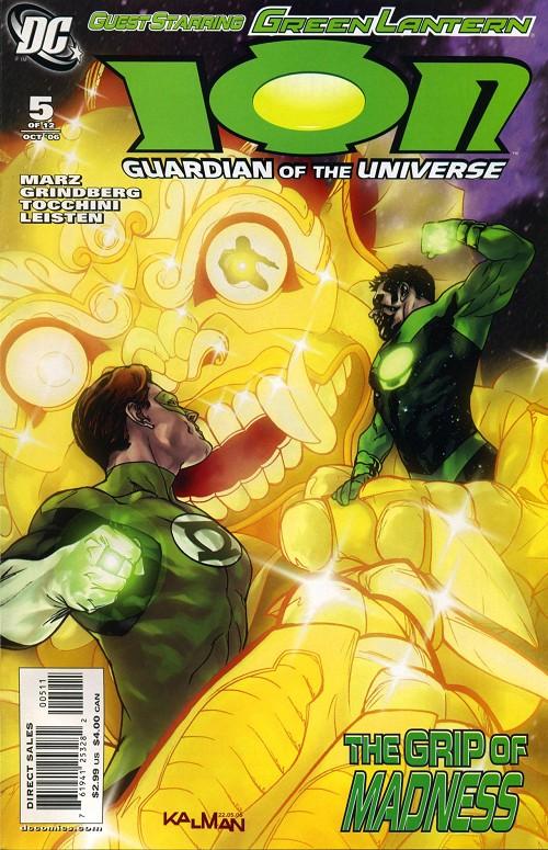 Couverture de Ion: Guardian of the Universe (2006) -5- Torch bearer 5