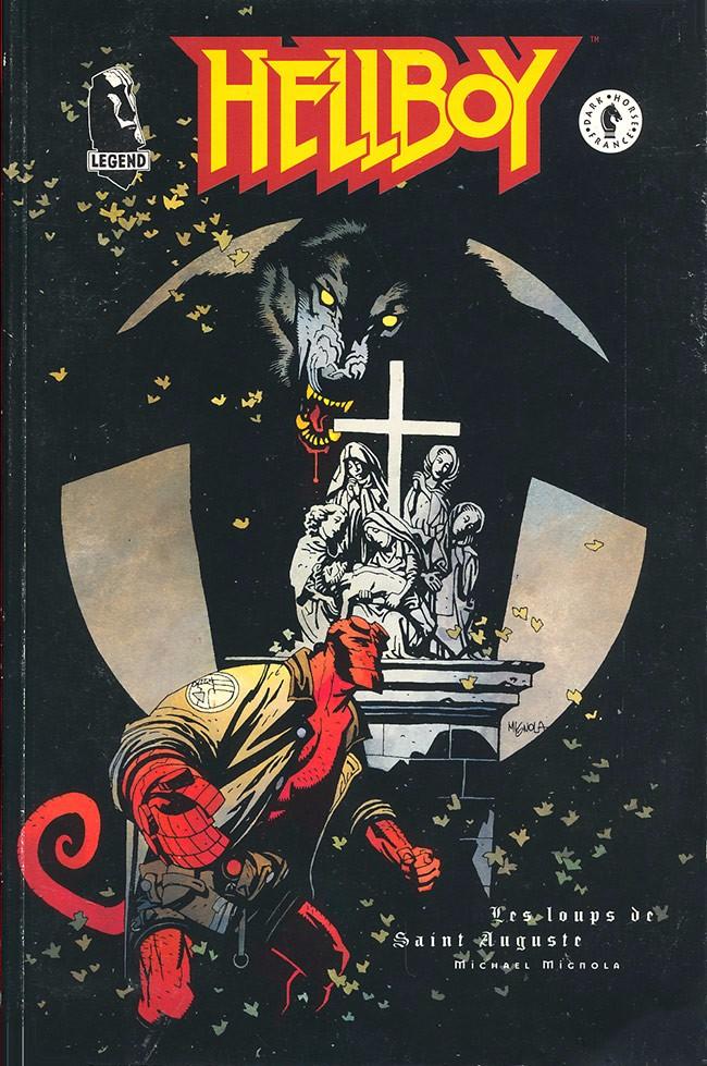 Couverture de Hellboy (Dark Horse France) -3- Les loups de Saint Auguste