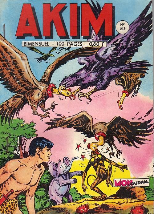 Couverture de Akim (1re série) -213- Le vautour