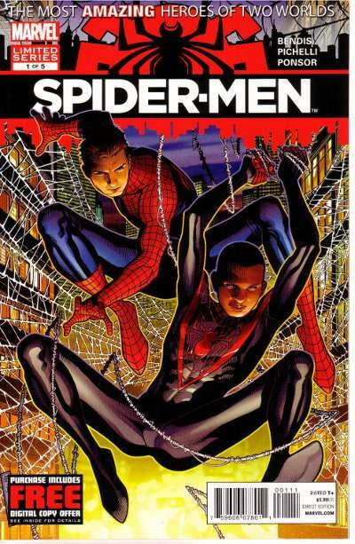 Couverture de Spider-Men (2012) -1- Issue 1