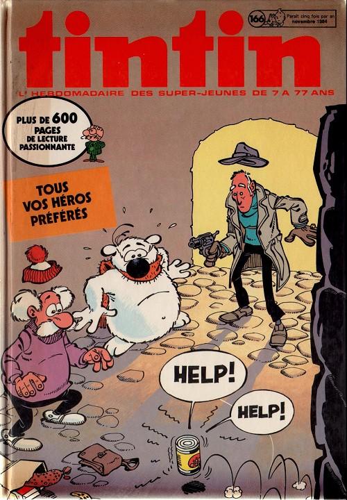 Couverture de (Recueil) Tintin (Album du journal - Édition belge) -166- Tome 166