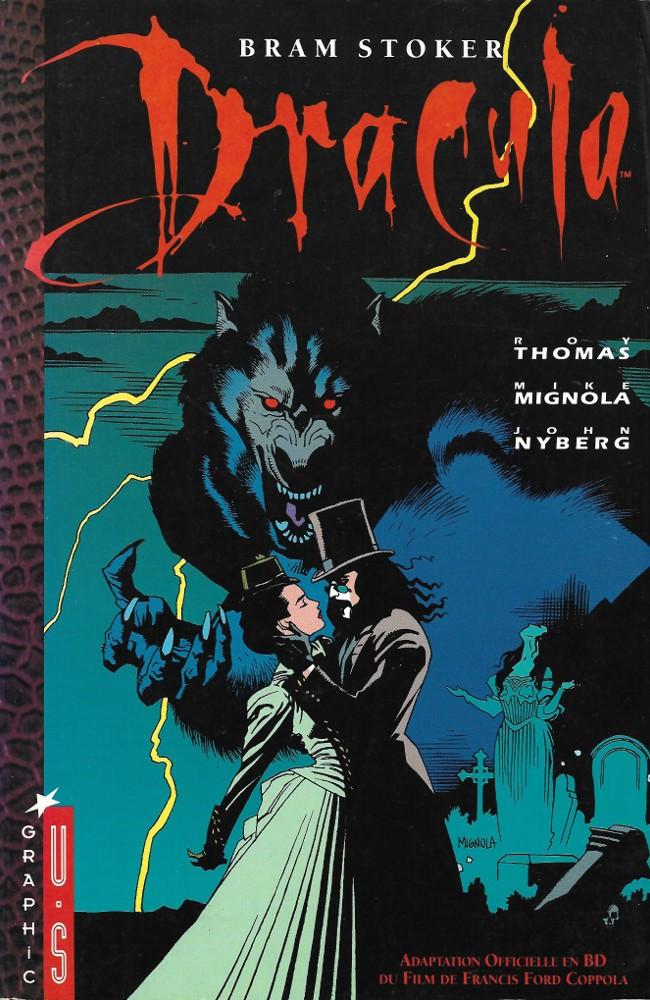 Couverture de Dracula (Mignola) - Dracula