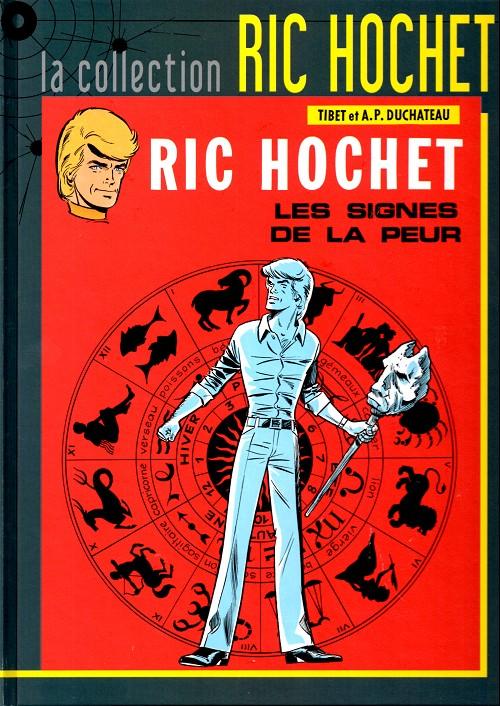 Couverture de Ric Hochet - La collection (Hachette) -19- Les signes de la peur