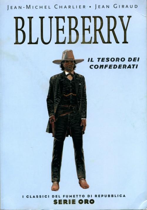 Couverture de Classici del Fumetto di Repubblica (I) - Serie Oro -25- Blueberry - Il Tesoro dei Confederati