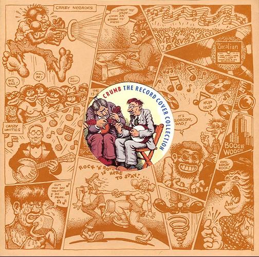 Couverture de (AUT) Crumb (en anglais) -6- The Record Cover Collection