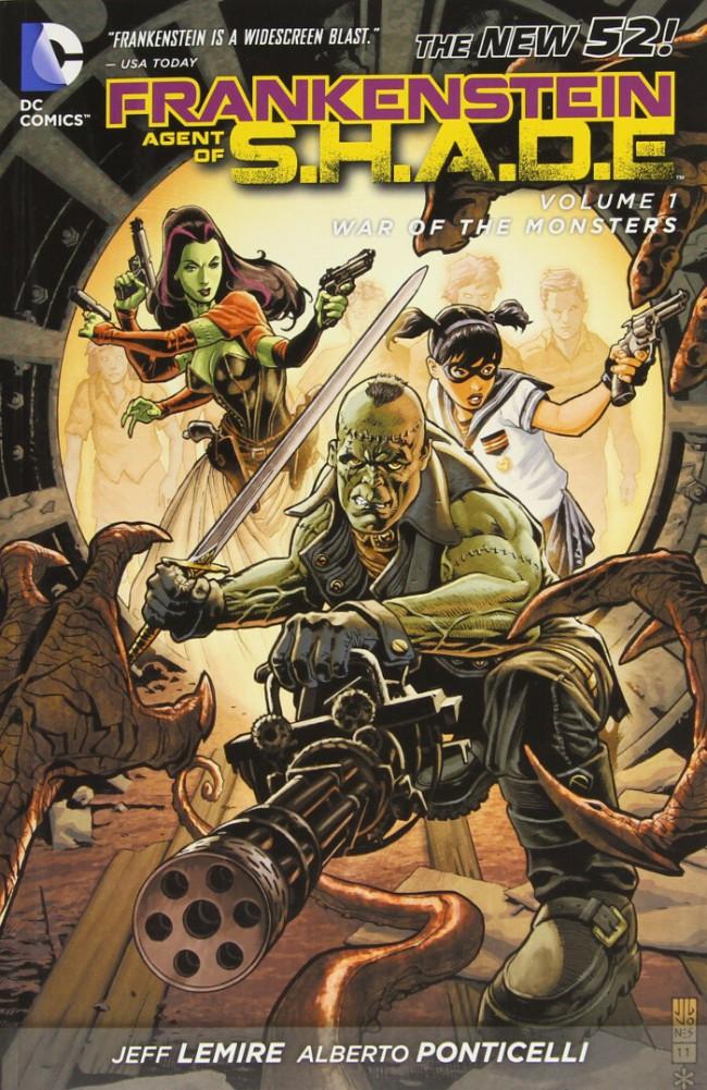 Couverture de Frankenstein, Agent of S.H.A.D.E. (2011) -INT01- War of the Monsters