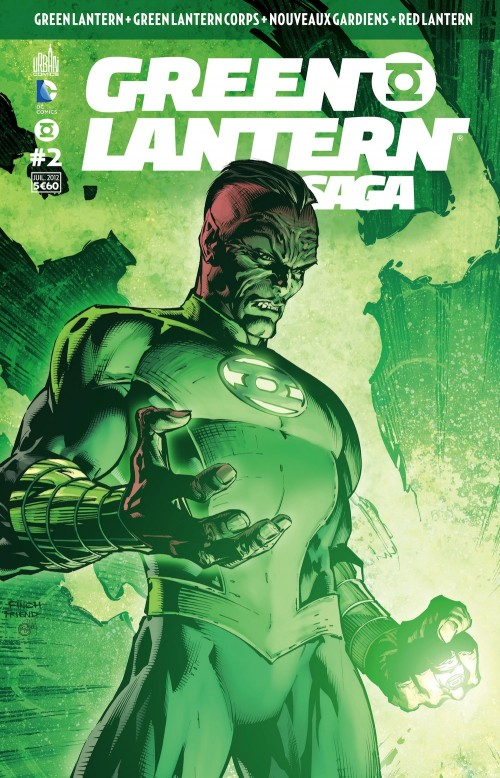 Couverture de Green Lantern Saga -2- Numéro 2