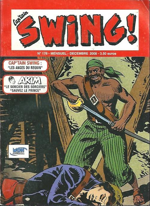 Couverture de Capt'ain Swing! (2e série - Mon Journal) -176- Les anges du requin