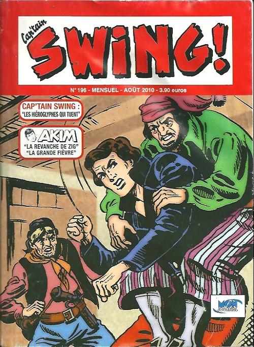 Couverture de Capt'ain Swing! (2e série - Mon Journal) -196- Les hiéroglyphes qui tuent