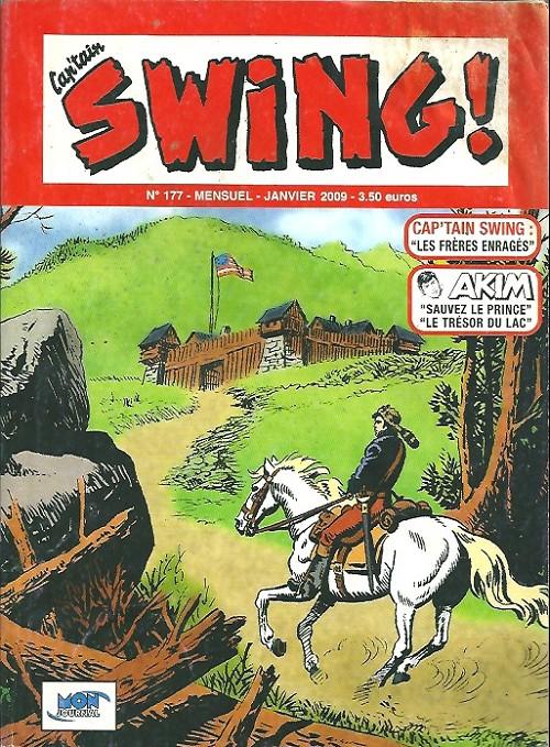 Couverture de Capt'ain Swing! (2e série - Mon Journal) -177- Les frères enragés