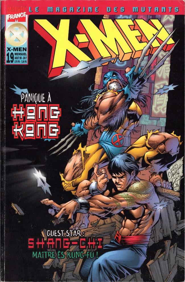 Couverture de X-Men (Marvel France 1re série - 1997) -19- Panique à Hong-Kong