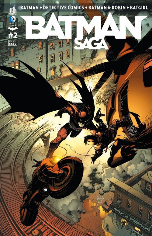 Couverture de Batman Saga -2- Numéro 2